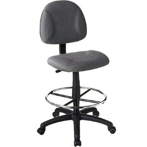 Boss Office Products Ergonomic Works Drafting Chair