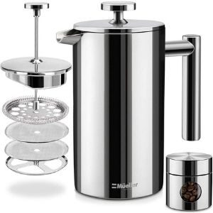 Mueller French Press Double Insulated 310