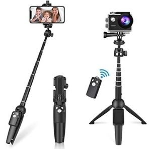 Bluehorn All in one Portable Aluminum Alloy Selfie Stick