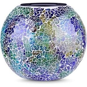 Pandawill Color Changing Mosaic Solar Light- GL-15586