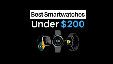 Smartwatches Under $200