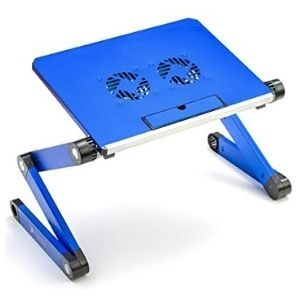 Executive Office Solutions Aluminum Laptop Table-EOS-4 Blue