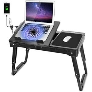 Moclever Laptop Table for Bed-Multi-Functional Laptop Bed Table Tray- B07H3PN7K3